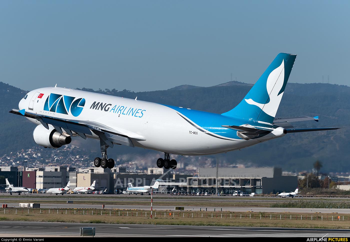 MNG Cargo TC-MCG aircraft at Barcelona - El Prat