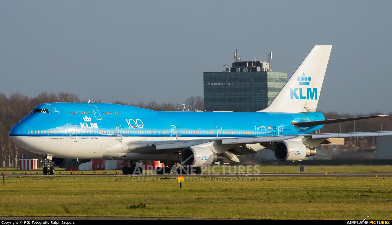 KLM PH-BFG aircraft at Amsterdam - Schiphol