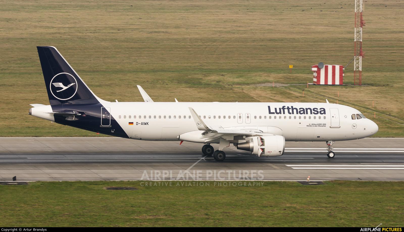 Lufthansa D-AIWK aircraft at Kraków - John Paul II Intl