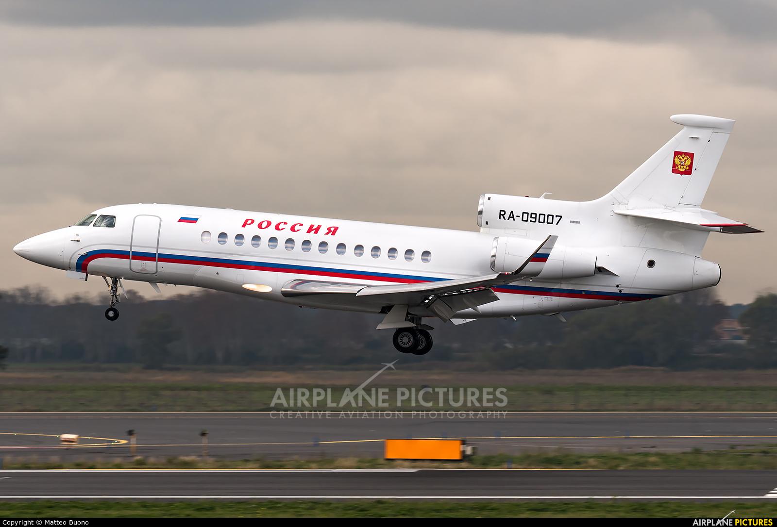 Rossiya RA-09007 aircraft at Rome - Fiumicino
