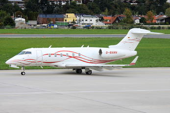D-BANN - Private Bombardier BD-100 Challenger 300 series