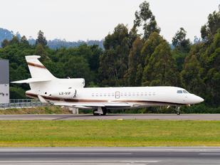 LX-VIP - Global Jet Luxembourg Dassault Falcon 8X