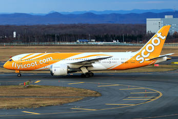 9V-OFC - Scoot Boeing 787-8 Dreamliner