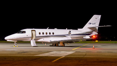 OM--LAT - Private Cessna 680A Latitude