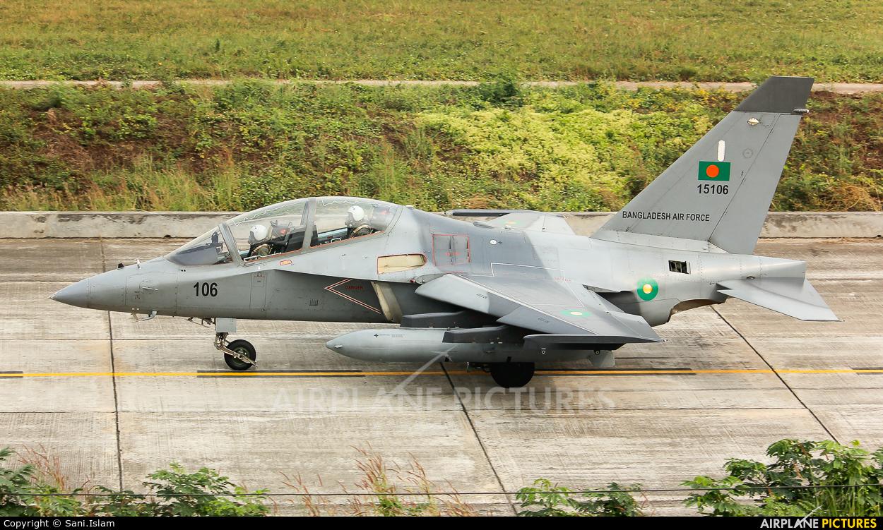 Bangladesh - Air Force 15106 aircraft at Dhaka - Hazrat Shahjala Intl