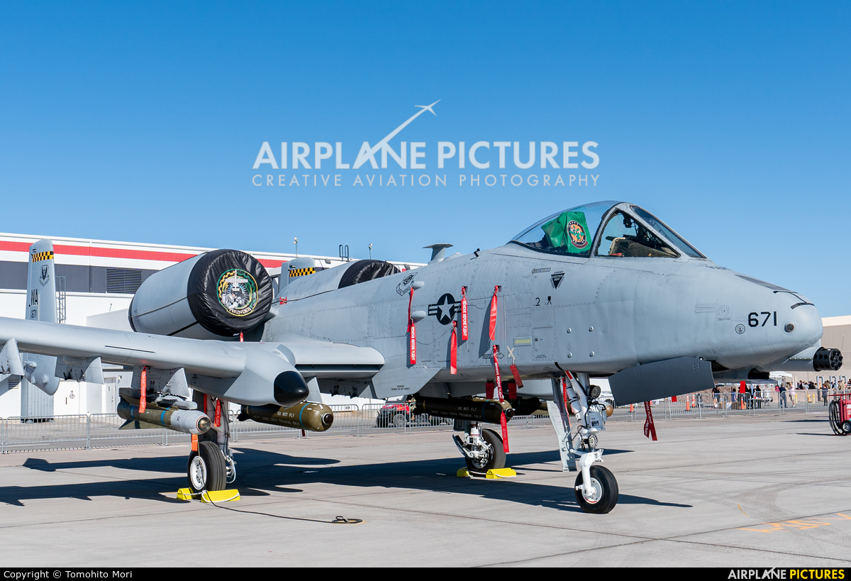 USA - Air Force 79-0671 aircraft at Nellis AFB