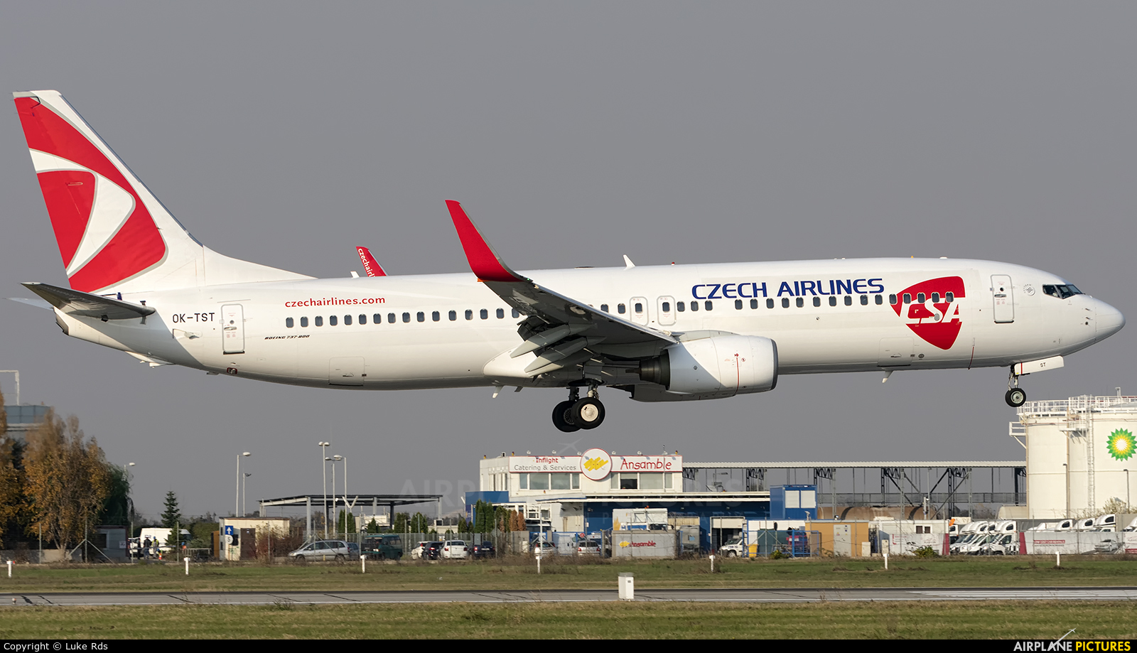 CSA - Czech Airlines OK-TST aircraft at Bucharest - Henri Coandă
