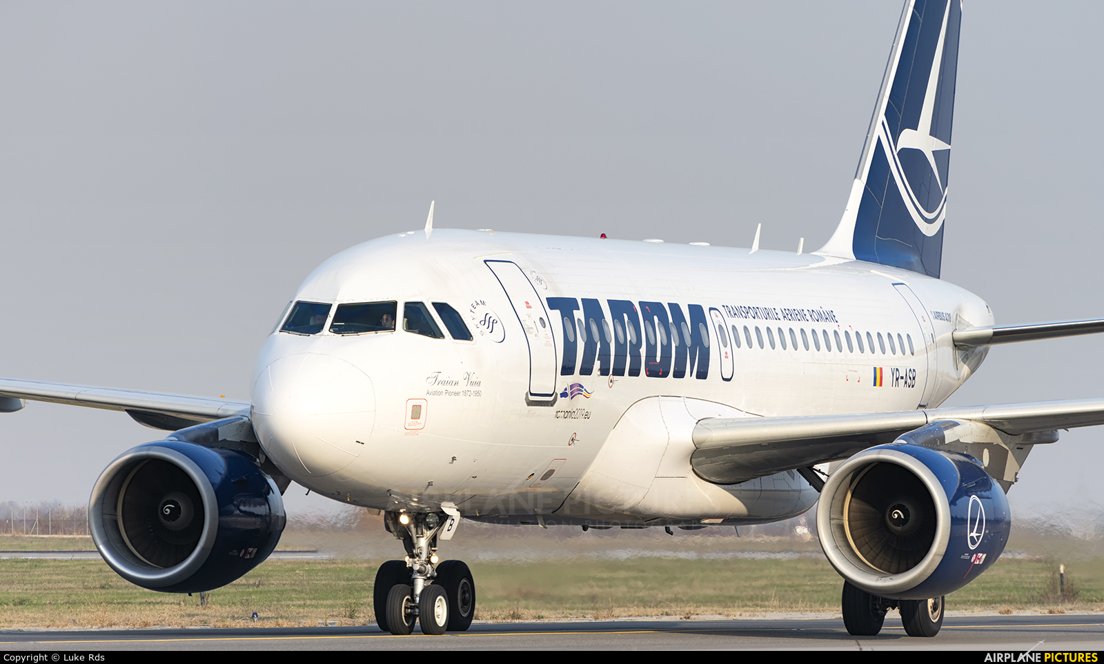 Tarom YR-ASB aircraft at Bucharest - Henri Coandă
