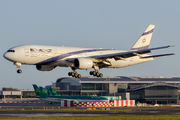 Rare visit of El Al Boeing 777 to Dublin title=