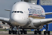 F-WWSS - Singapore Airlines Airbus A380 aircraft