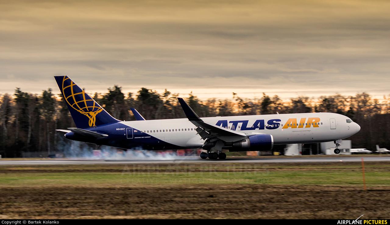Atlas Air N649GT aircraft at Nuremberg