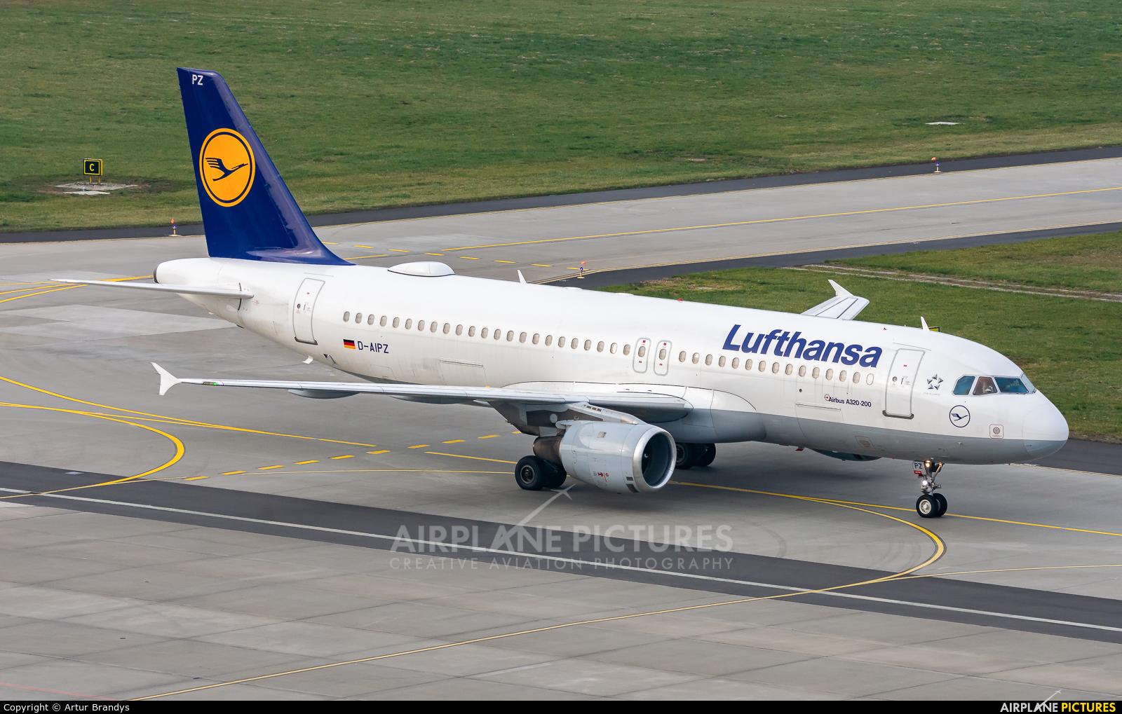 Lufthansa D-AIPZ aircraft at Kraków - John Paul II Intl