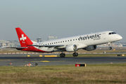 HB-JVT - Helvetic Airways Embraer ERJ-190 (190-100) aircraft