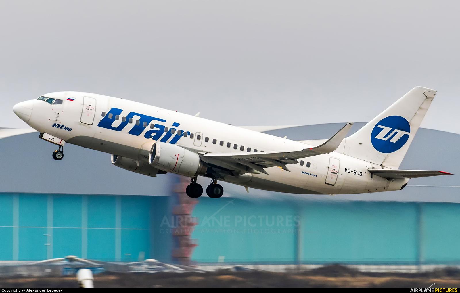 UTair VQ-BJQ aircraft at Moscow - Vnukovo
