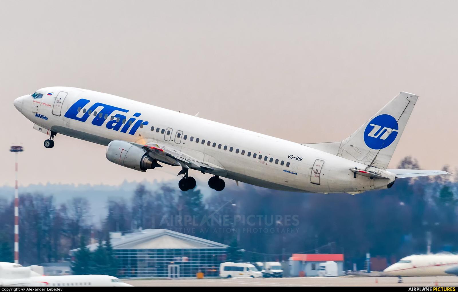 UTair VQ-BIE aircraft at Moscow - Vnukovo