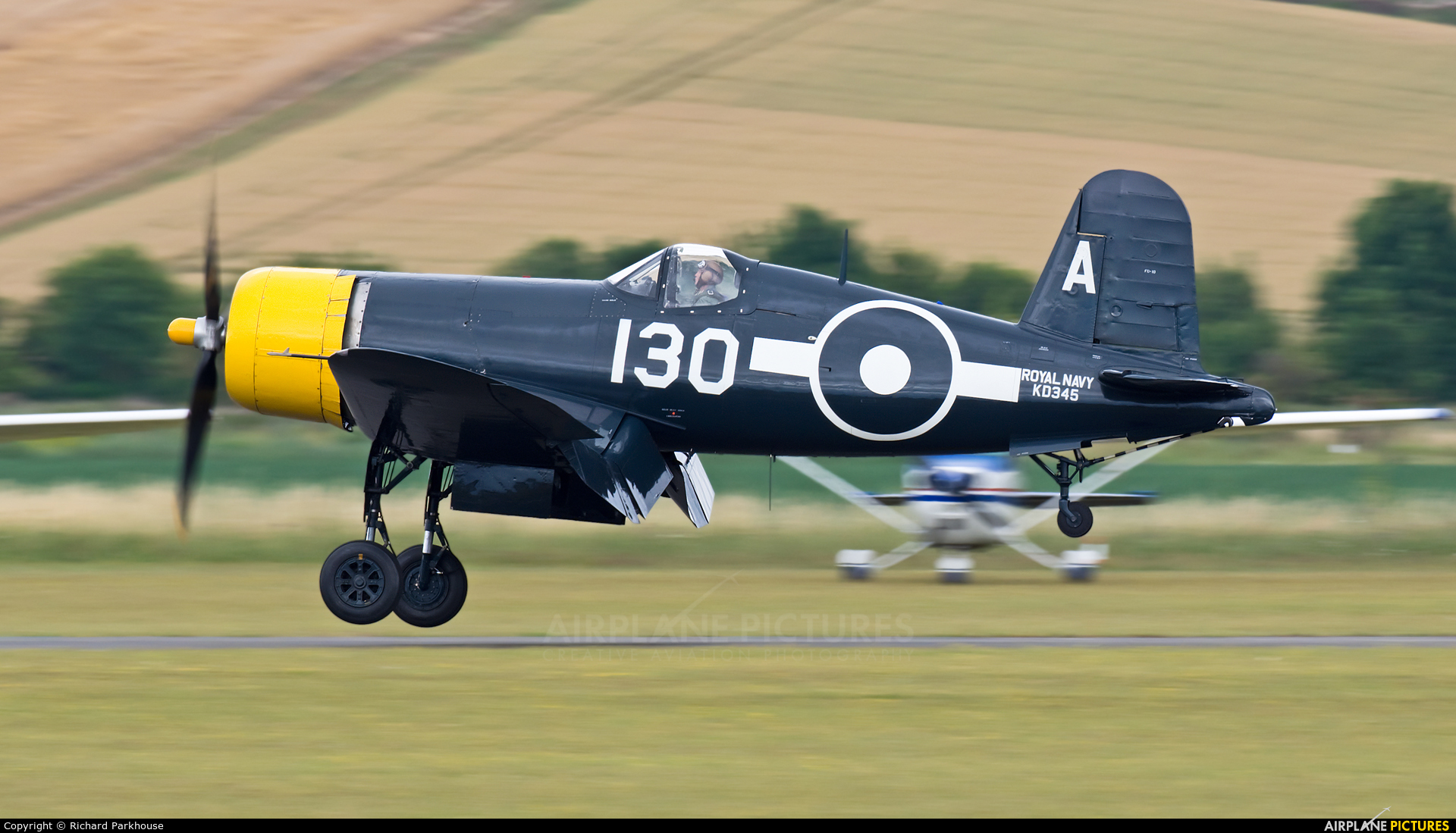 The Fighter Collection G-FGID aircraft at Duxford