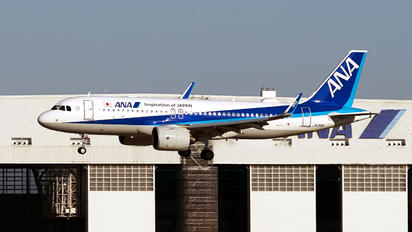 JA216A - ANA - All Nippon Airways Airbus A320 NEO