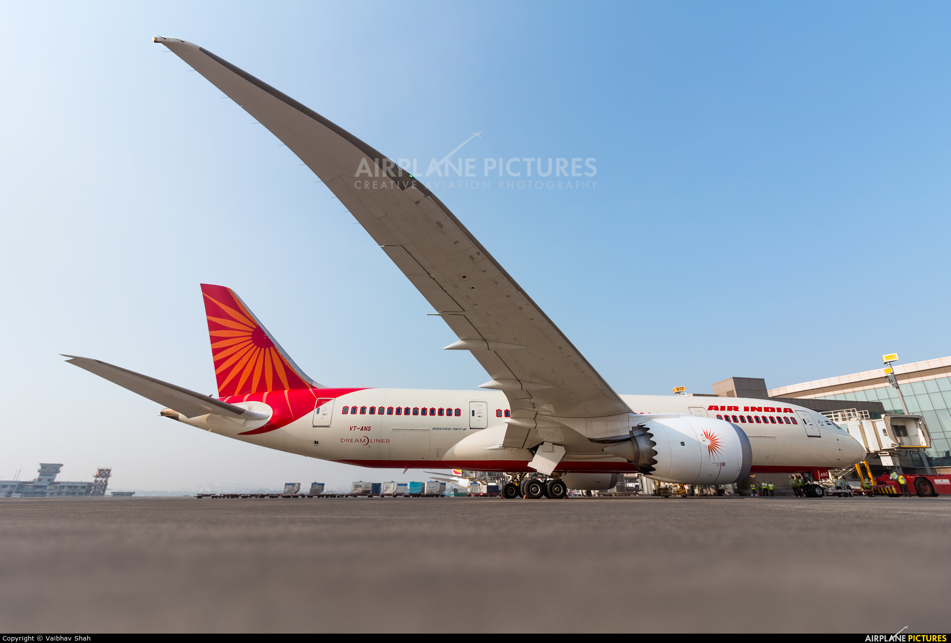 Air India VT-ANS aircraft at Mumbai - Chhatrapati Shivaji Intl