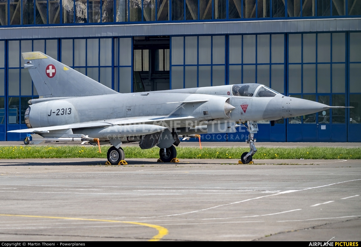 Switzerland - Air Force J-2313 aircraft at Buochs