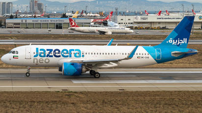 9K-CAQ - Jazeera Airways Airbus A320 NEO