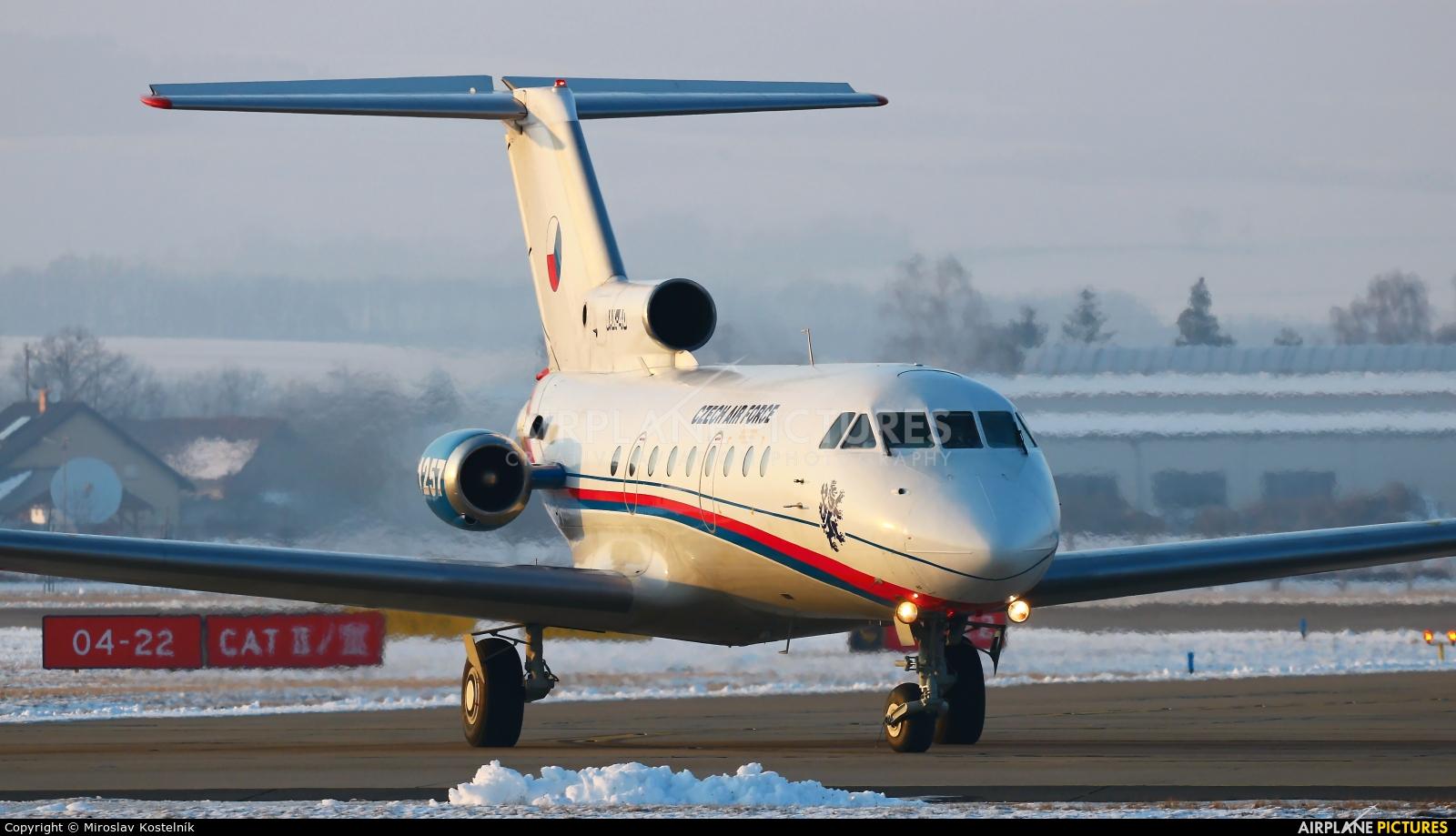 Czech - Air Force 1257 aircraft at Ostrava Mošnov