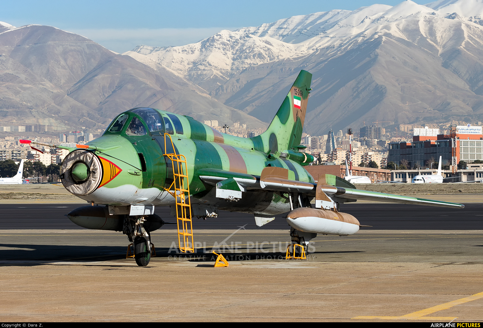 Iran - Islamic Republic Air Force 15-2464 aircraft at Tehran - Mehrabad Intl