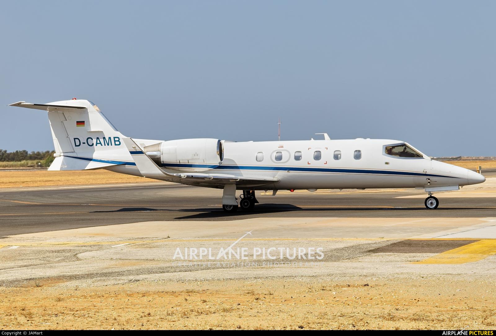 Private D-CAMB aircraft at Faro