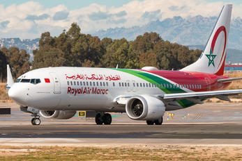 CN-MAX - Royal Air Maroc Boeing 737-8 MAX