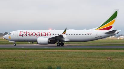ET-AVK - Ethiopian Airlines Boeing 737-8 MAX