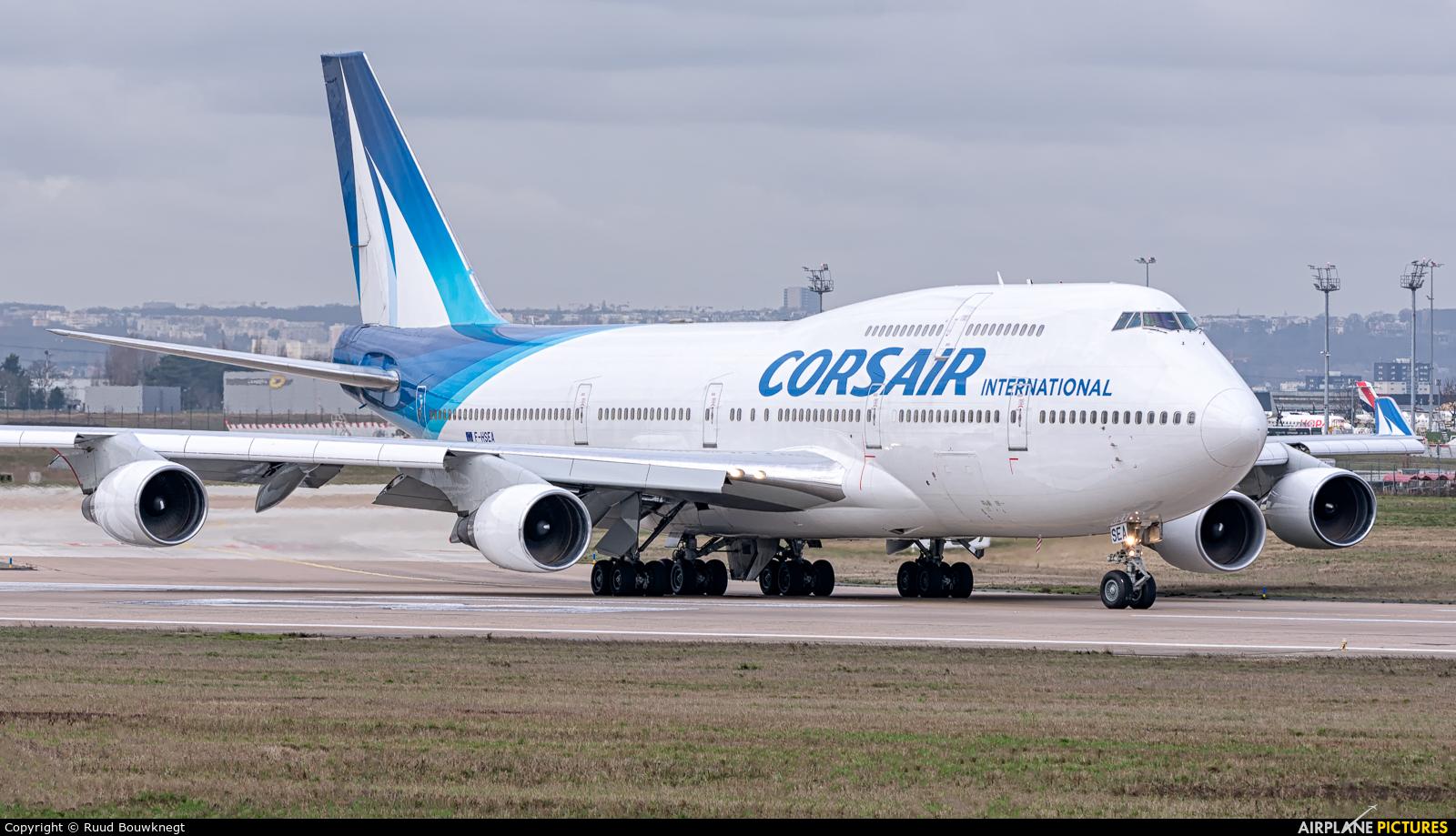 Corsair / Corsair Intl F-HSEA aircraft at Paris - Orly