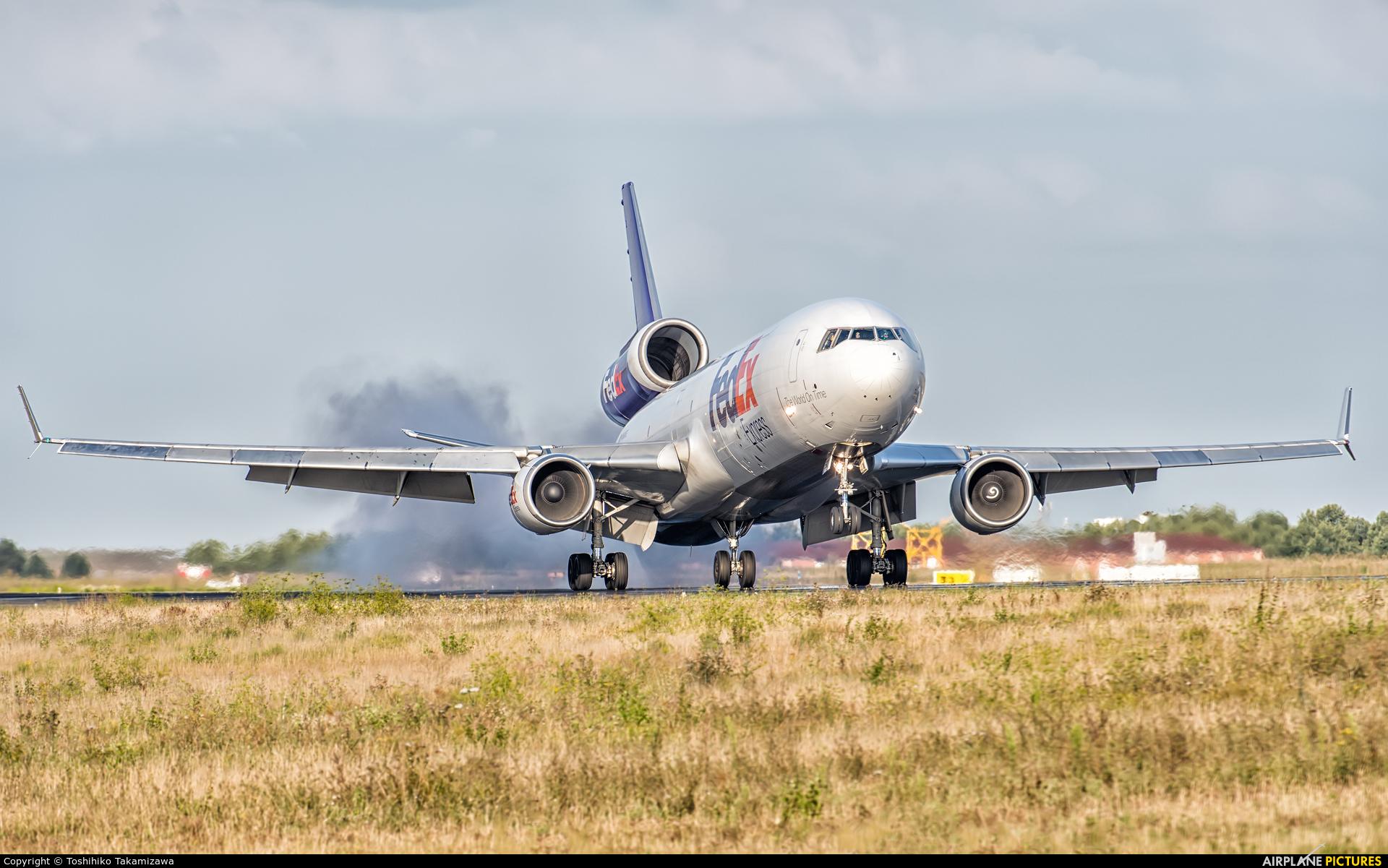 FedEx Federal Express N593FE aircraft at Paris - Charles de Gaulle