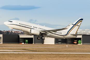 2-SGSG - Gainjet Boeing 737-700 BBJ