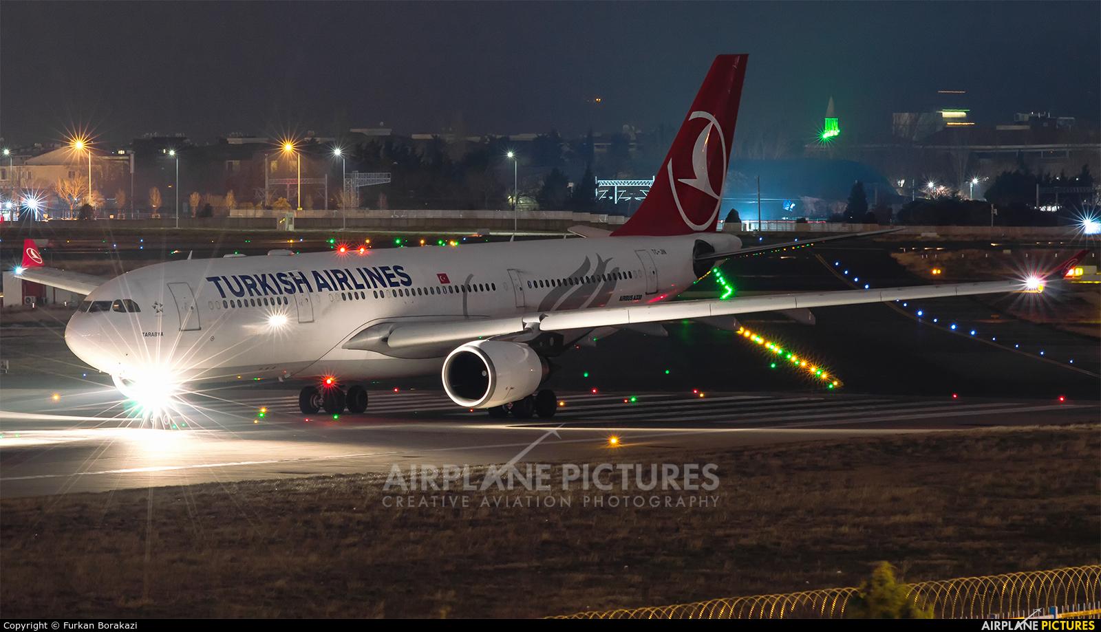 Turkish Airlines TC-JIN aircraft at Istanbul - Ataturk