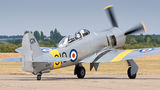 The Fighter Collection Hawker Sea Fury T.20 G-CHFP at Duxford airport