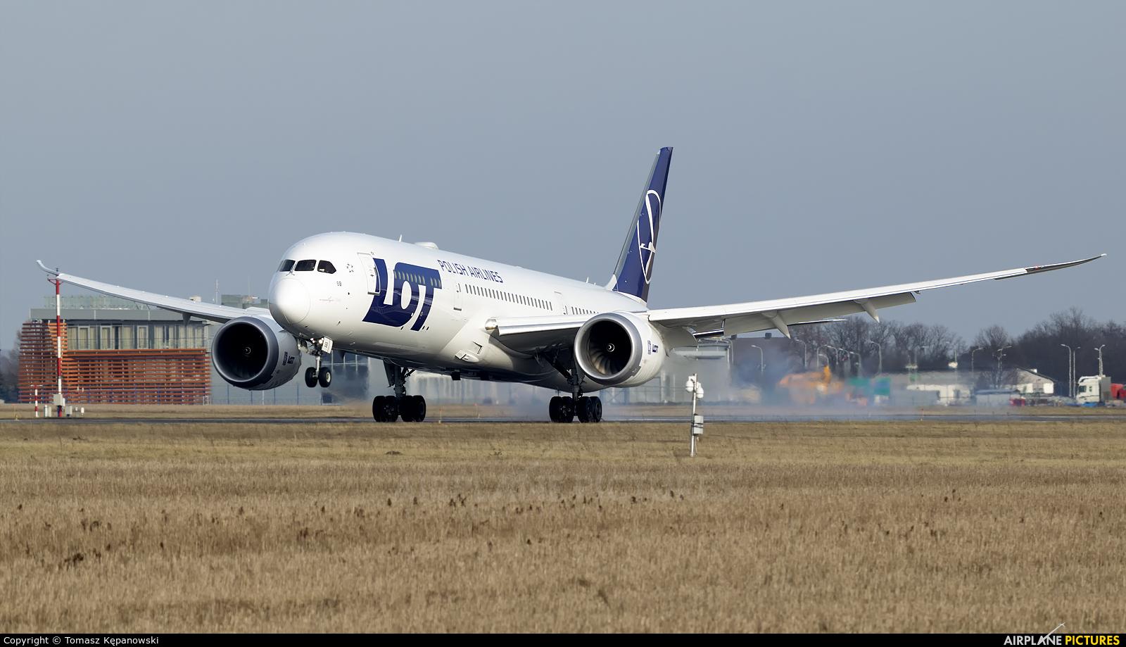 LOT - Polish Airlines SP-LSB aircraft at Rzeszów-Jasionka