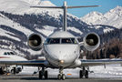Private Bombardier CL-600-2B16 Challenger 604 M-DSTZ at Samedan - Engadin airport