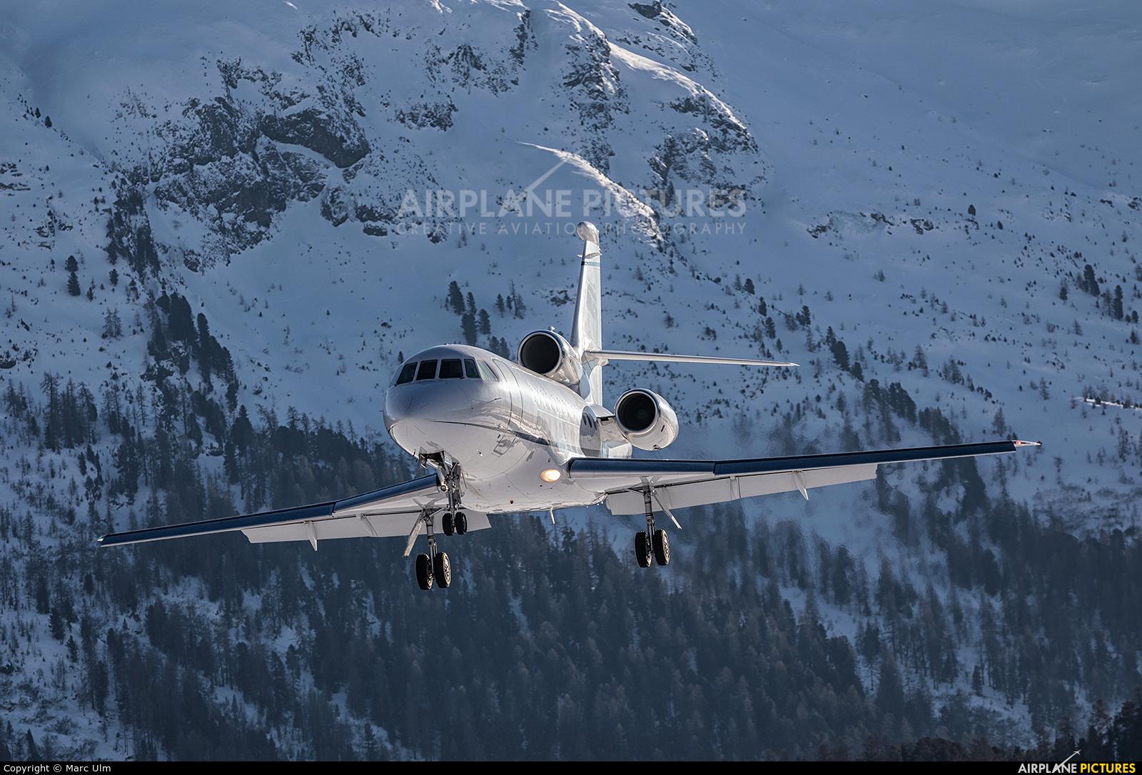 TAG Aviation 9H-YUM aircraft at Samedan - Engadin