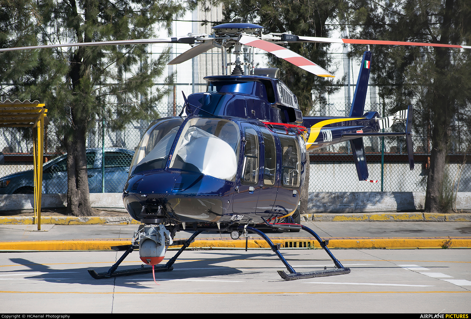 Mexico - Police XC-DMA aircraft at Mexico City - Licenciado Benito Juarez Intl