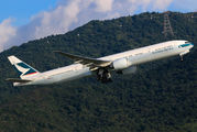 B-KQL - Cathay Pacific Boeing 777-300ER aircraft
