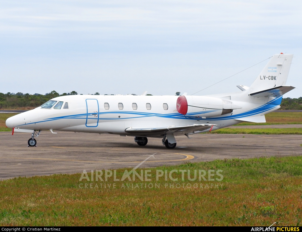Private LV-CBK aircraft at Formosa Intl