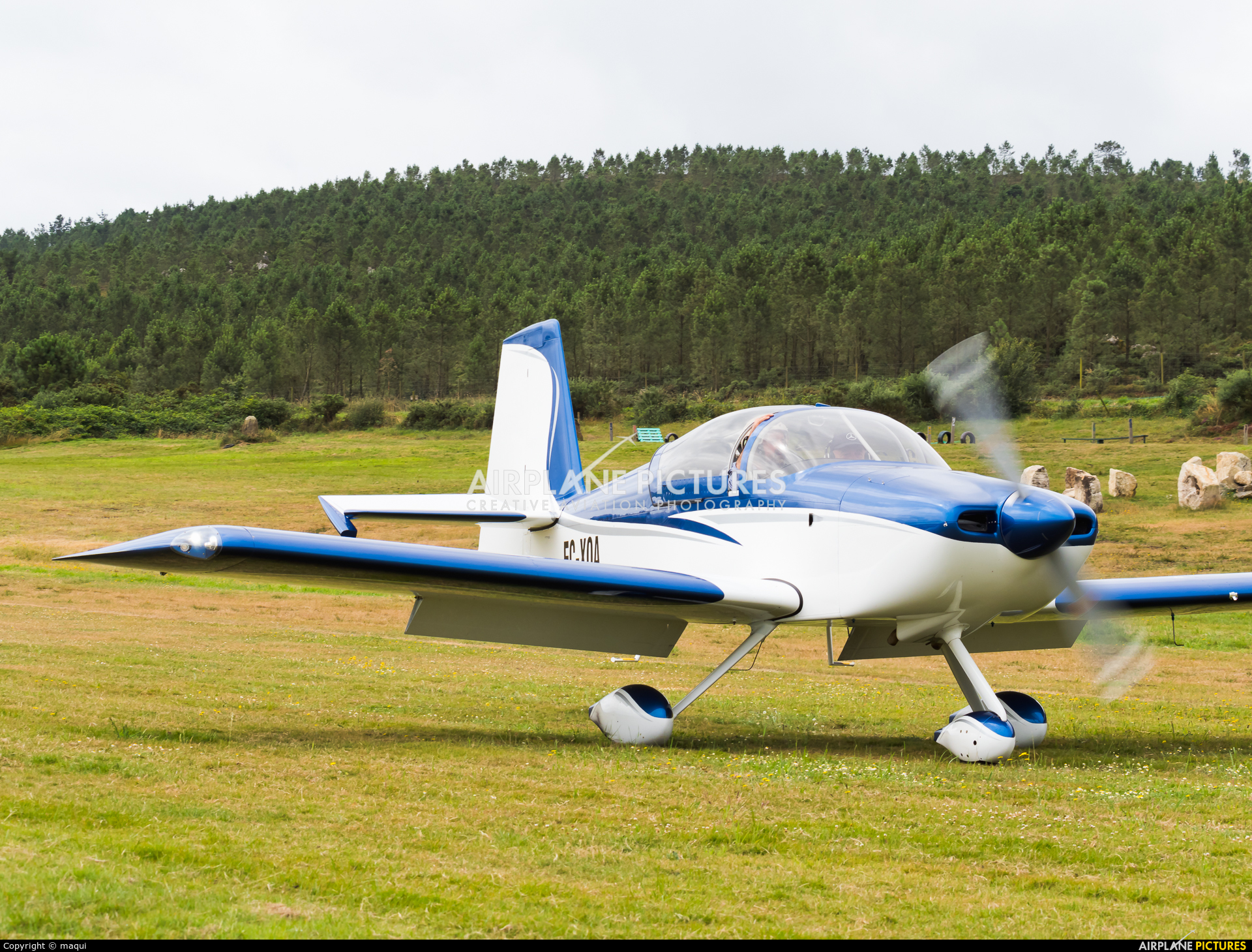 Private EC-XQA aircraft at Aerodromo De Mazaricos