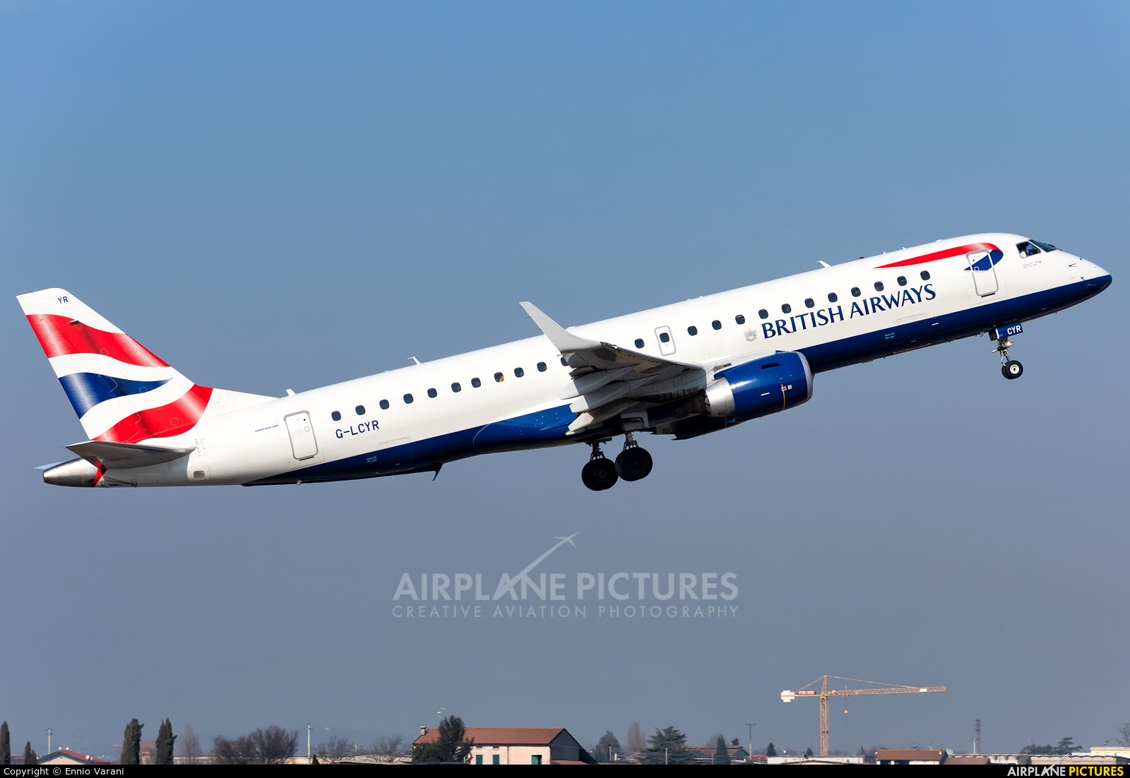 British Airways - City Flyer G-LCYR aircraft at Verona - Villafranca
