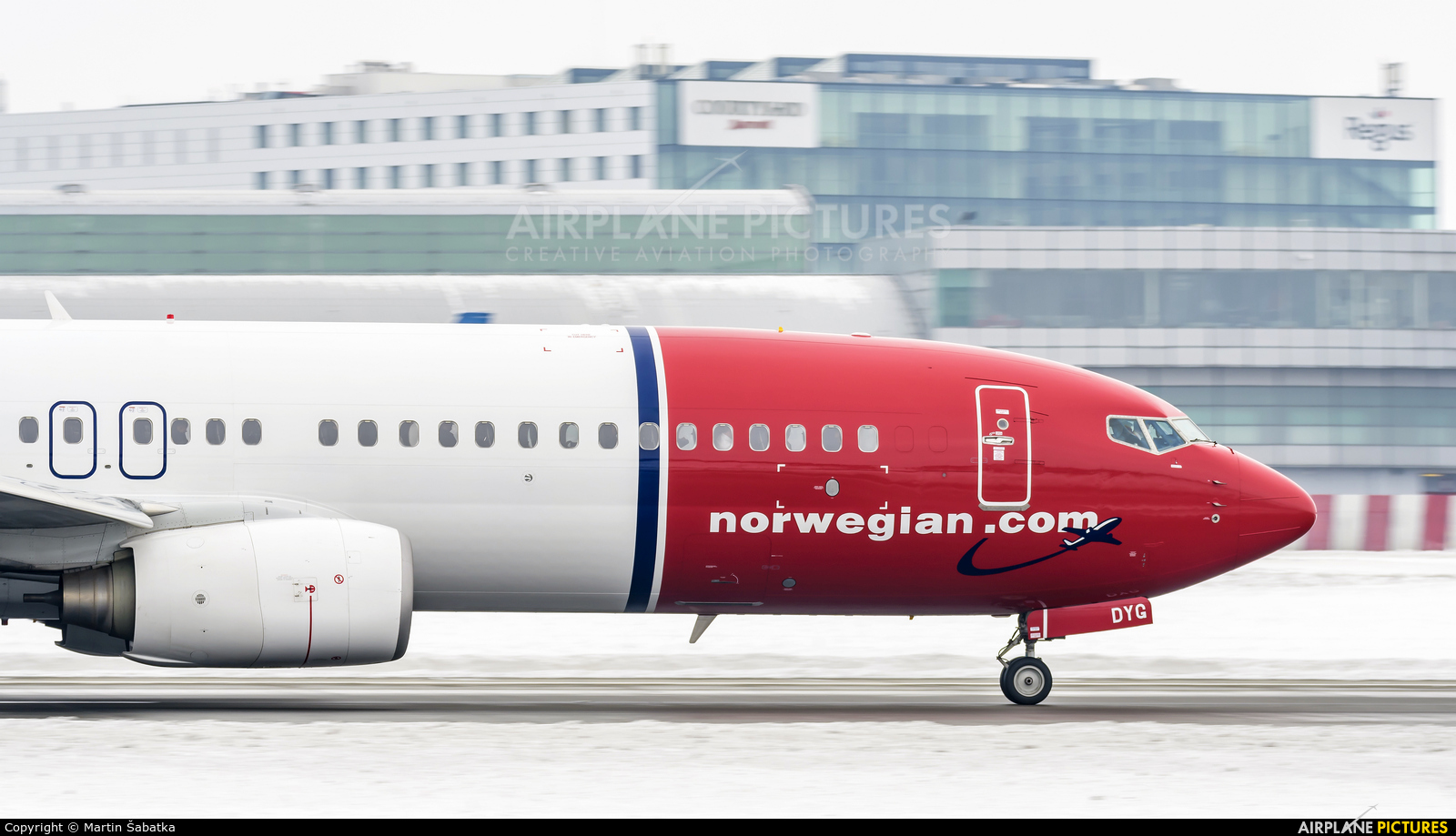 Norwegian Air Shuttle LN-DYG aircraft at Prague - Václav Havel