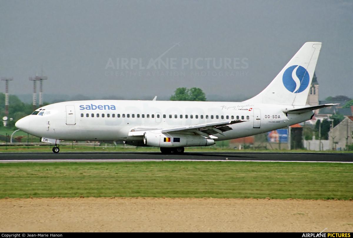 Sabena OO-SDA aircraft at Brussels - Zaventem