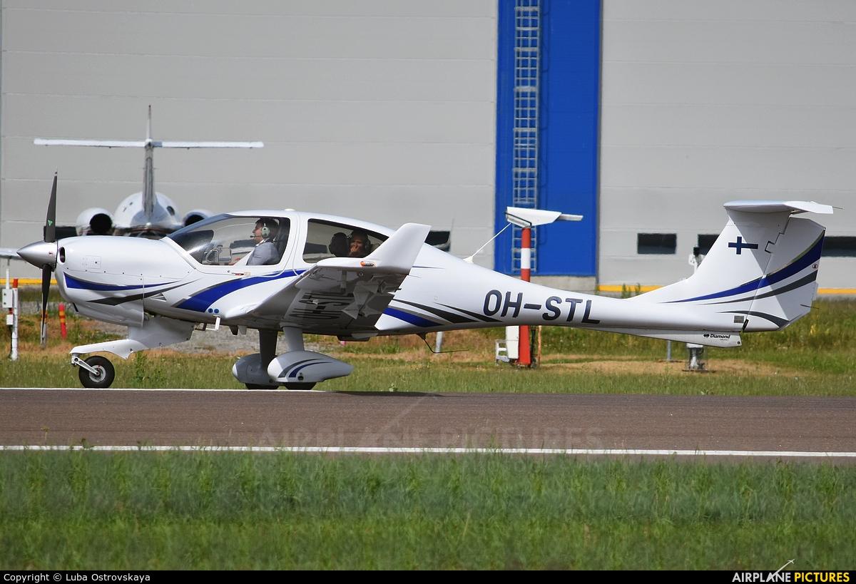 Private OH-STL aircraft at Tallinn