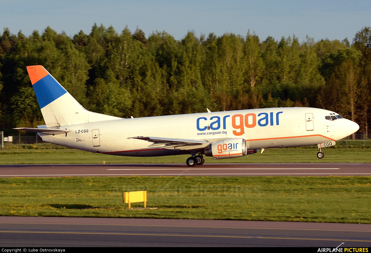 Cargo Air LZ-CGQ aircraft at Tallinn