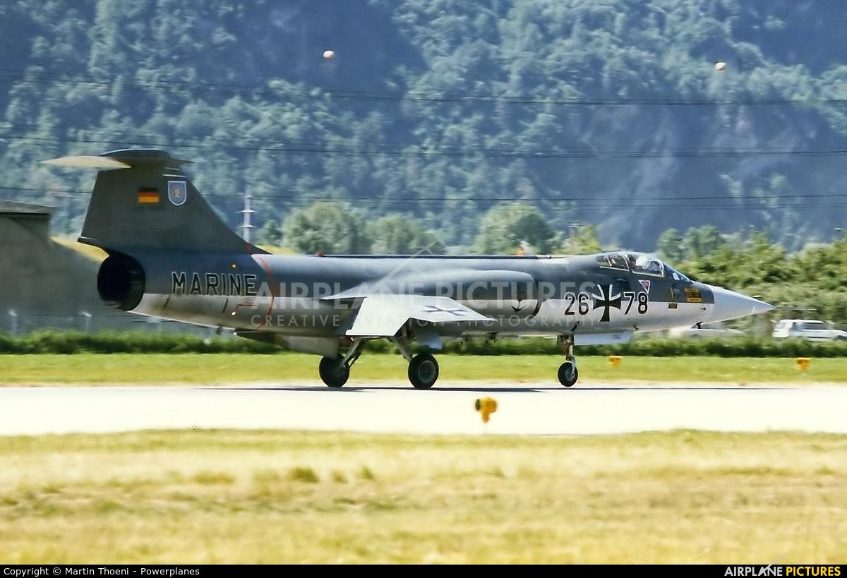 Germany - Navy 26+78 aircraft at Sion