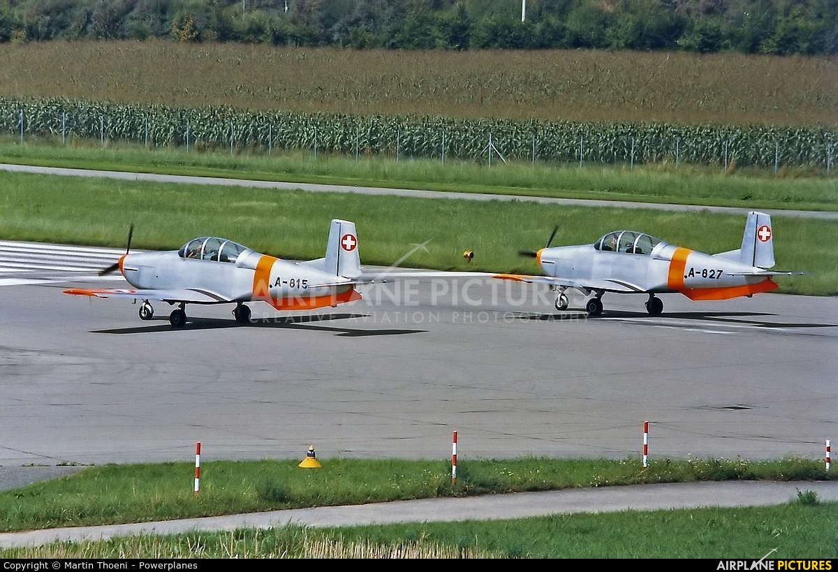 Switzerland - Air Force A-815 aircraft at Dübendorf