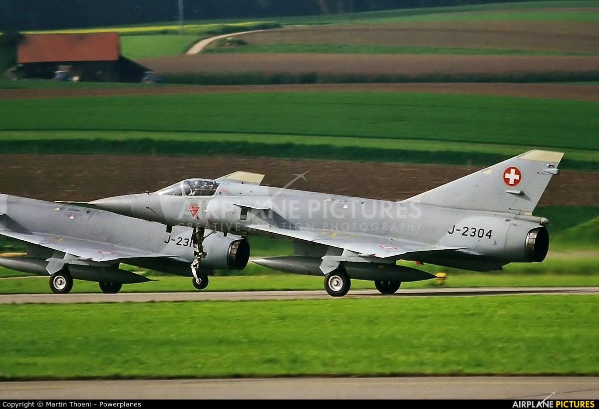 Switzerland - Air Force J-2304 aircraft at Payerne