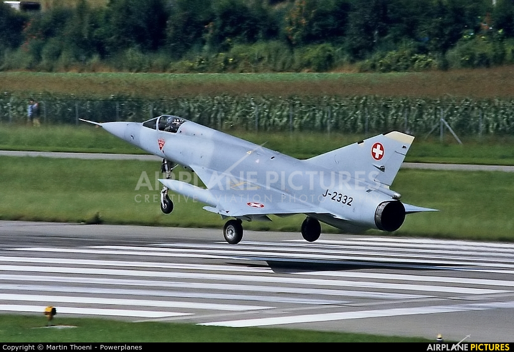 Switzerland - Air Force J-2332 aircraft at Dübendorf